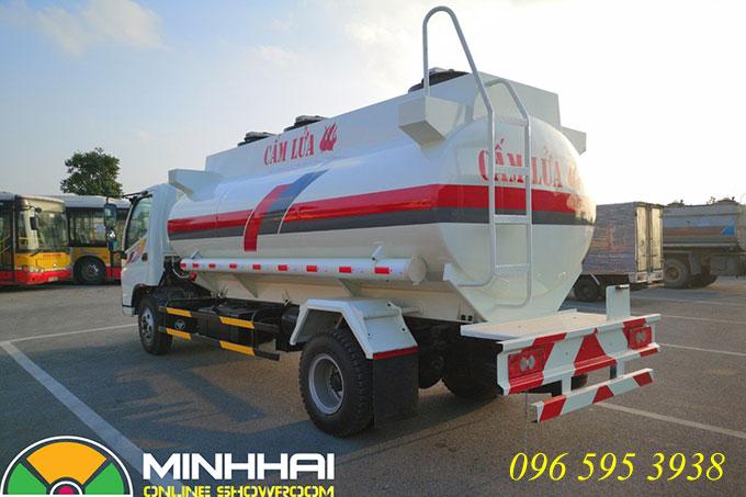 xe xitec chở xăng dầu 9 khối ollin