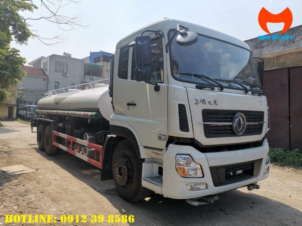xe phun nước rửa đường dongfeng 12 khối