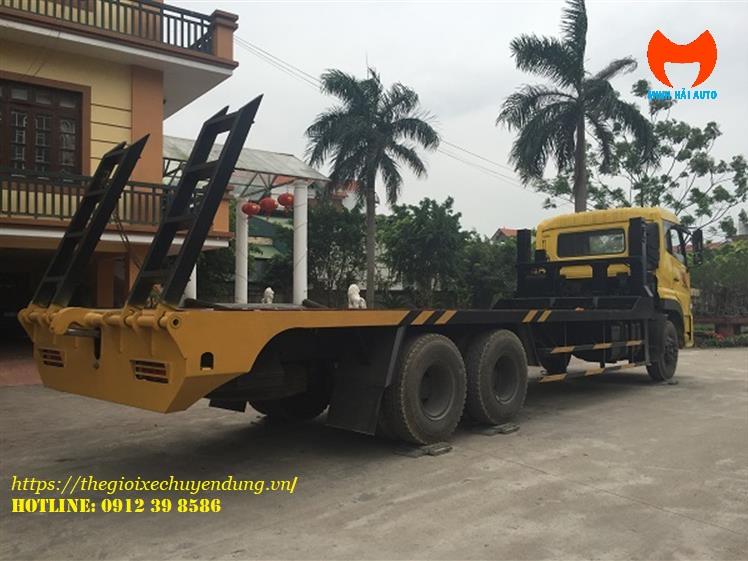 Xe chở máy công trình Dongfeng Hoàng Huy