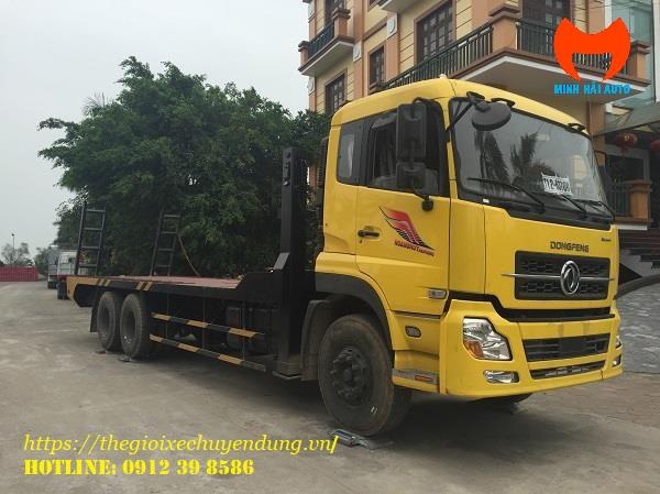 Xe nâng đầu 3 chân Dongfeng