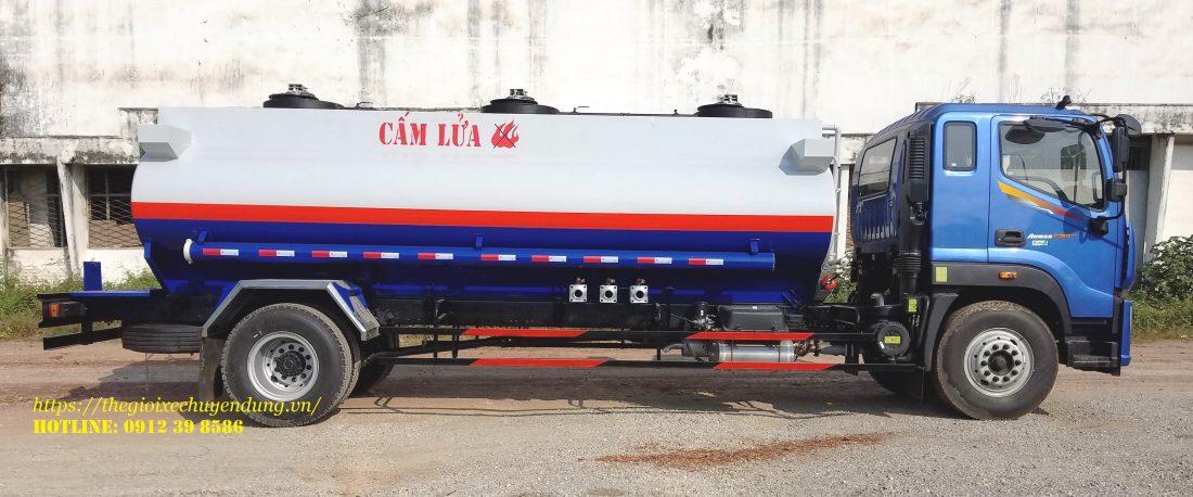 xe chở xăng dầu 12 khối
