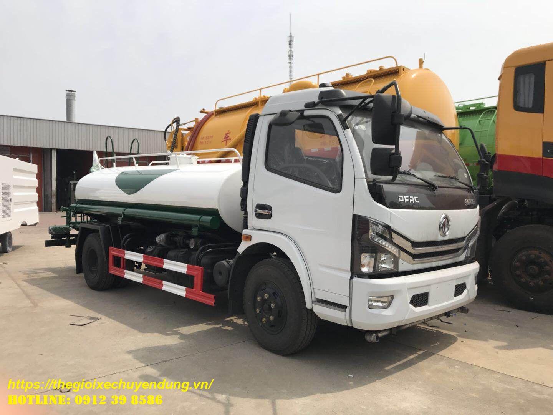Xe rửa đường 5 khối dongfeng nhập khẩu