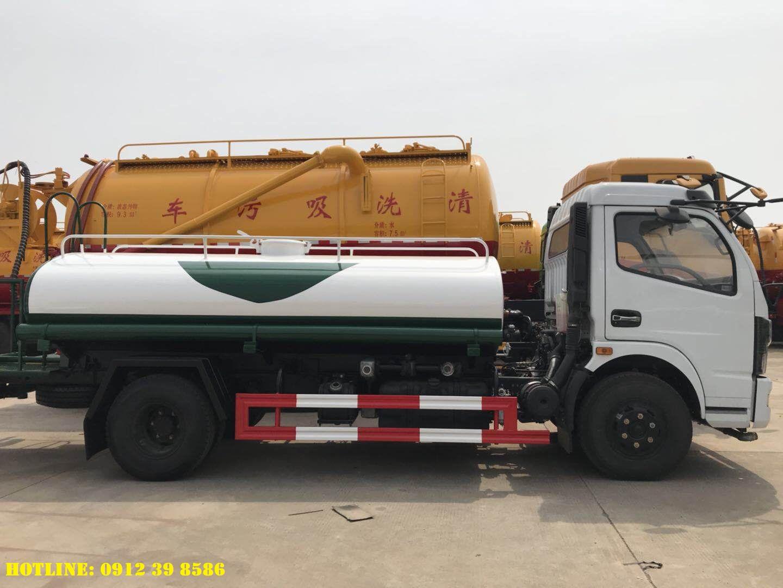 xe rửa đường dongfeng 5 khối