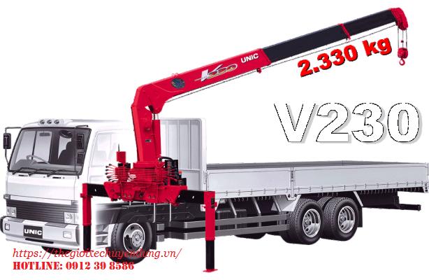cẩu unic 2 tấn URV230