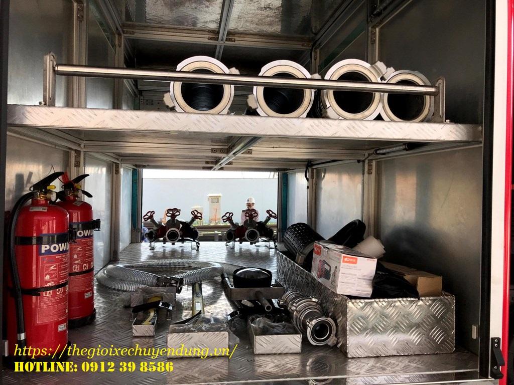 xe chữa cháy hino 12 khối