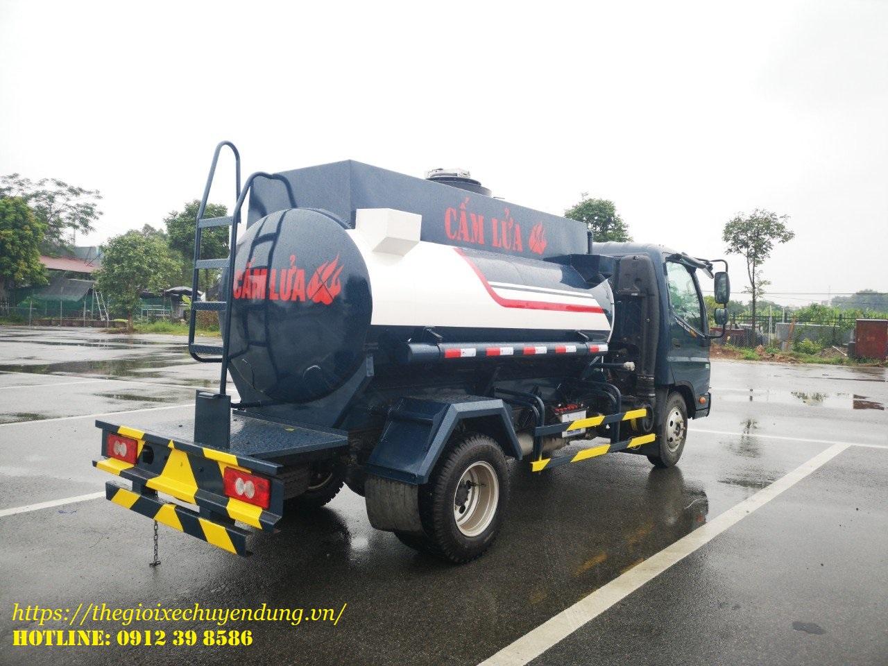 xe xitec chở xăng dầu 4 khối ollin 350