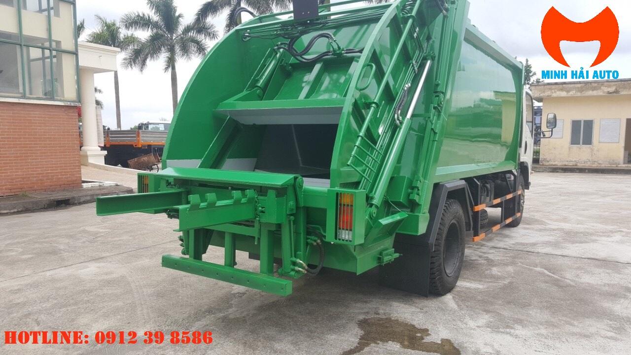xe ép chở rác Isuzu 14 khối FVR34LE4