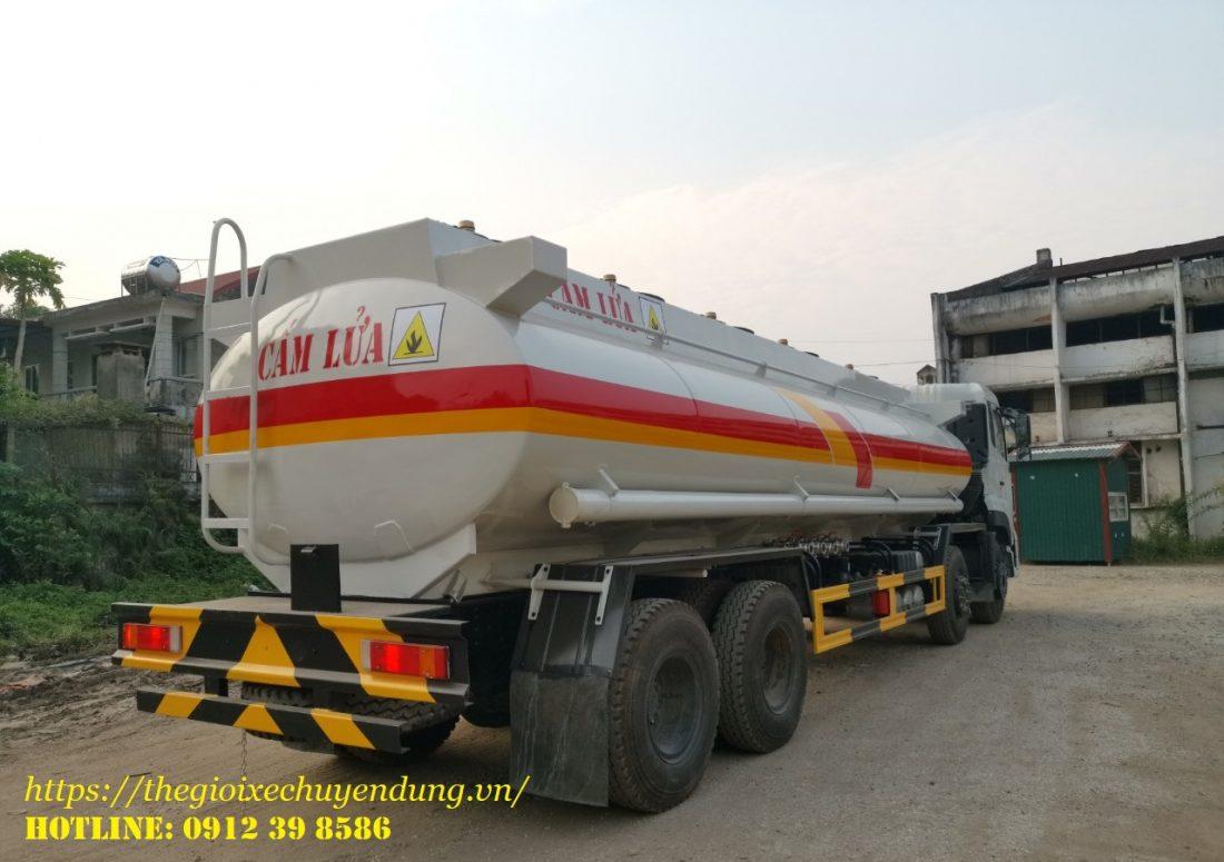 Xe chở xăng dầu 22 khối Dongfeng