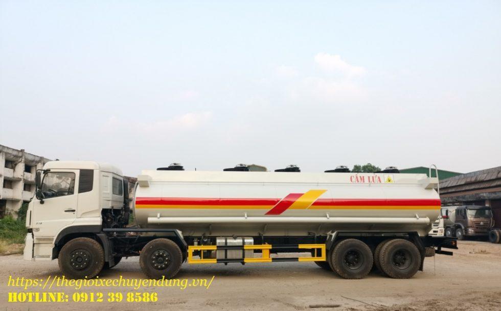 xe bồn chở xăng dầu 22 khối Dongfeng