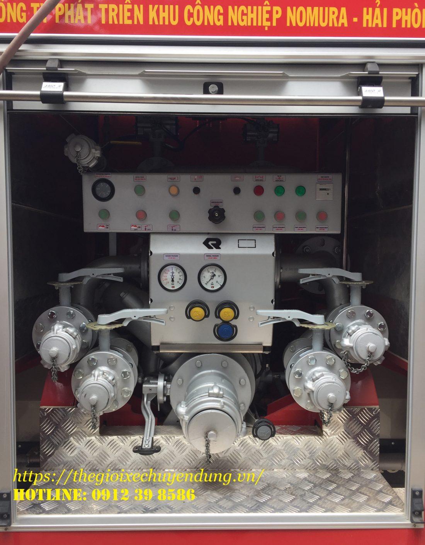 xe cứu hỏa chữa cháy hino FG