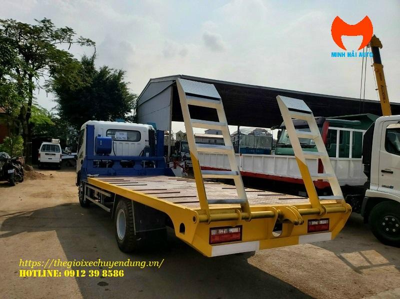 xe chở máy công trình hyundai ex8